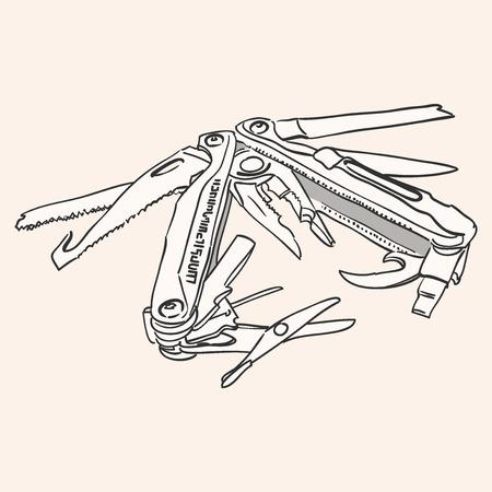 knife: Knife Multi Tool