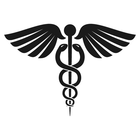 design symbols: Health Caduceus Symbol