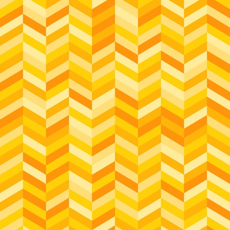 variance: Zig Zag Background in Shades of Yellow and Orange