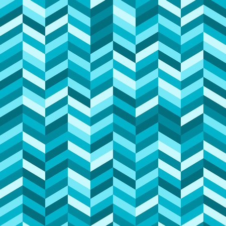 complimentary: Zig Zag Abstract Background in Shades of Blue Illustration