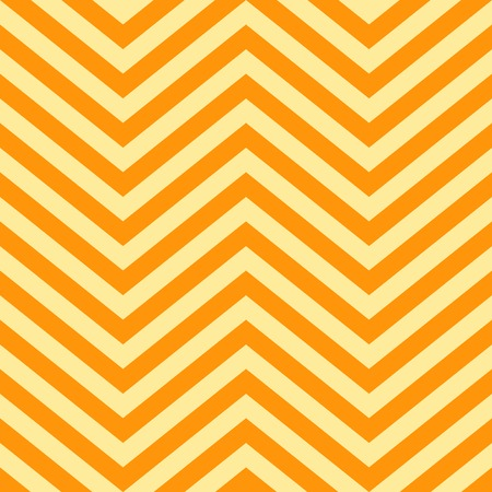 pointed arrows: Background of Yellow and Orange V Shape Patterns Illustration