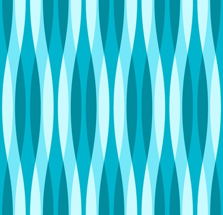 variance: Turquoise Blue and White Wavy Background