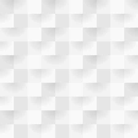 white frame: Alternating gray square shape seamless background pattern