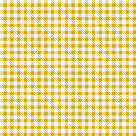 Yellow Table Plaid Seamless Pattern