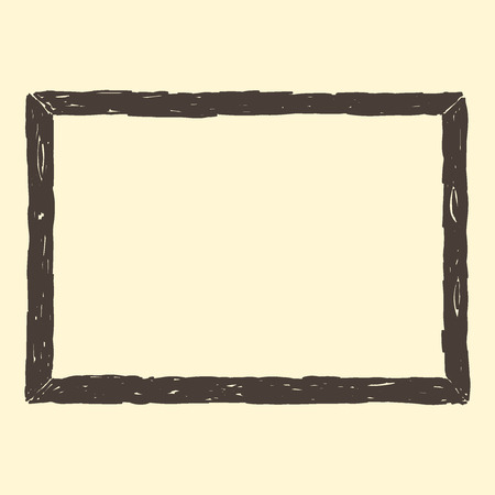 wood frame: Brown Frame Sketch