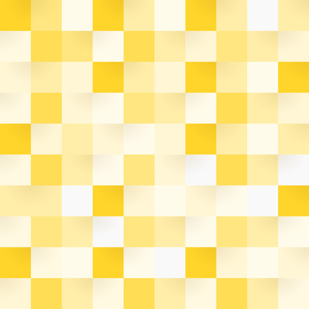 Yellow Square Pattern Иллюстрация