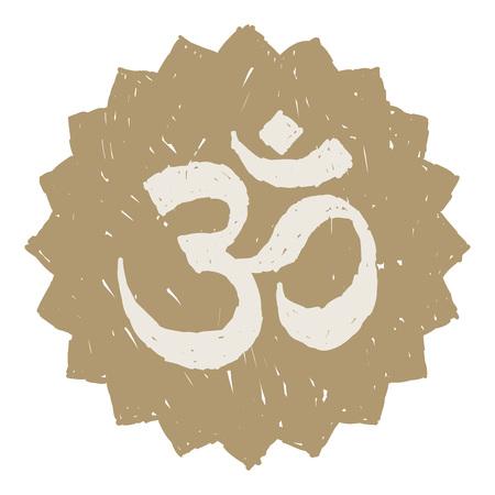 om symbol: Gold Om Symbol