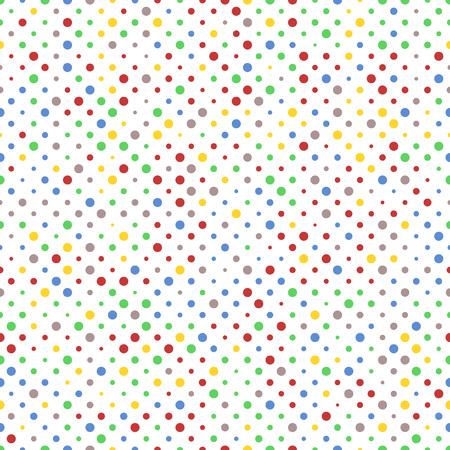 Pattern of Vibrant Dots
