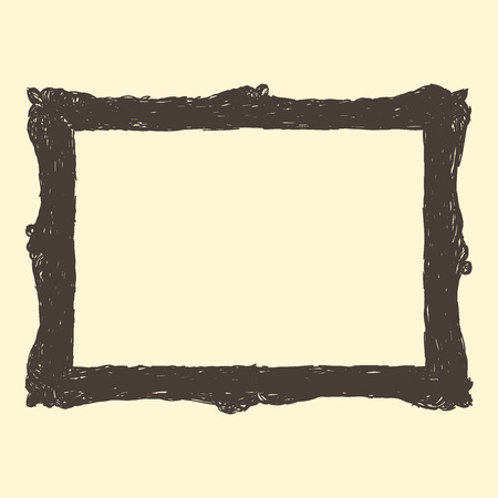 Cute Picture Frame Drawing