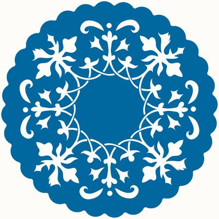 rosette: Patr�n para estera o encajes Vectores