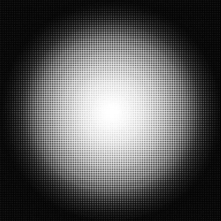 Abstract Halftone circle gradient Background, square illustration.