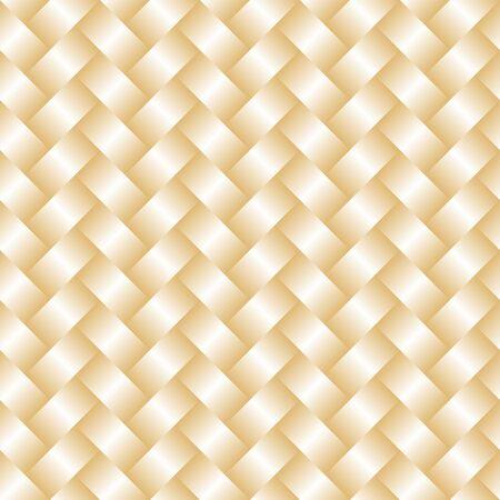 Vector Handcraft weave seamless pattertn. Simple geometric handcraft texture weave texture gradient illustration. EPS 10