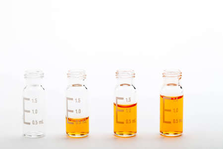 Samples for analysis Stock Photo