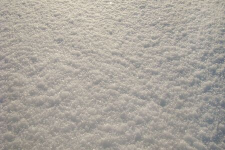 granular: brilliant white granular snow as a background Stock Photo