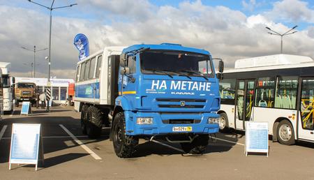 methane: KAMAZ-terrain running on methane Editorial