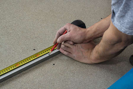 desired: Measuring tape of the desired size.
