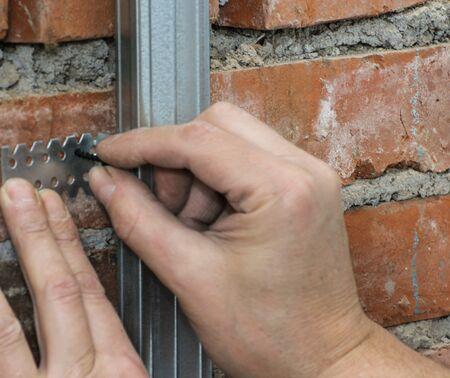 dowel: Securing screw in the dowel.