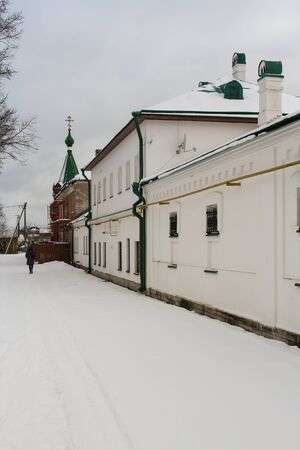 ladoga: Buildings Staraya Ladoga monastery.