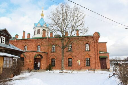 ladoga: Staraya Ladoga Cathedral of the Holy Dormition nunnery.
