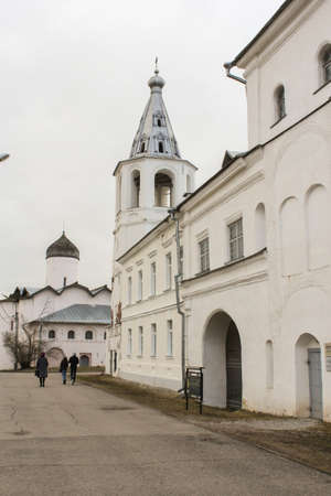 residential housing: Residential housing Yaroslavs Court. Architectural tourist complex of Novgorod Yaroslavs Court.