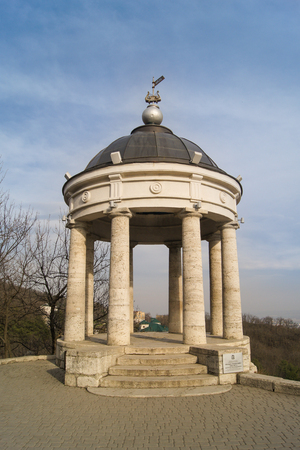 aeolian: Arbour Aeolian Harp. Architecture and attractions of the city of Kislovodsk.