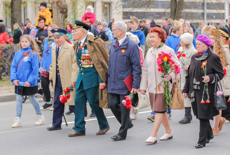 Preparation and conduct of the action Immortal regiment in small cities of Russia. Editöryel