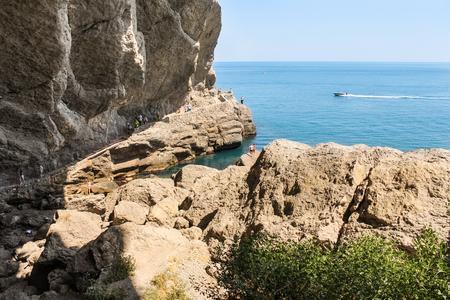 Travel along the coast along the path of Prince Golitsyn.