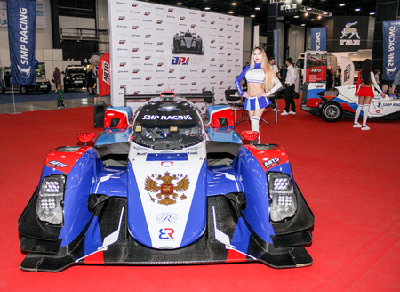 St. Petersburg International Automobile Salon 2019 in the expoforum. Editorial