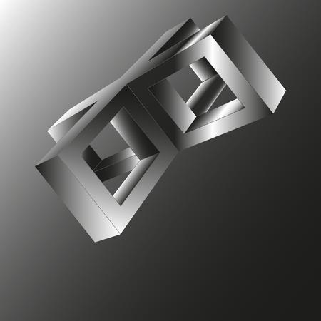 square shape: square, shape Illustration