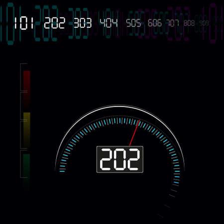 speed: speed meter