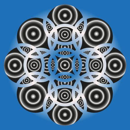 circles: background circles Illustration