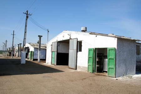 Dairy Barn Stock Photo - 697804