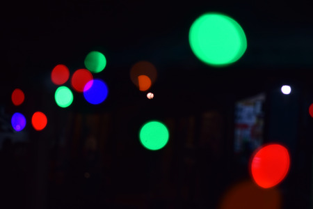 Abstract bokeh lights, defocused background