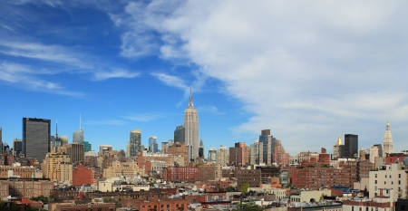 Empire State building in Manhattan photo