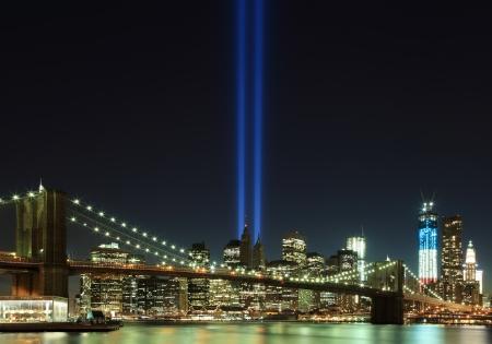 wtc: 9 11 WTC Light Tribute