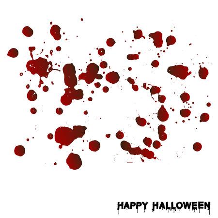 Blood splatters Illustration