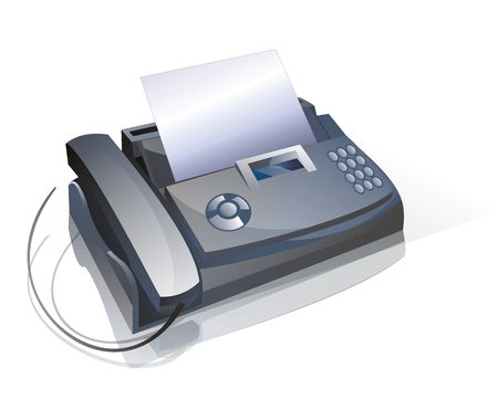 Fax and phone device