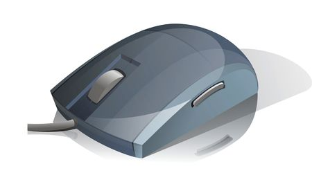 Mouse device Stock Photo