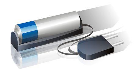 Rechargable battery Stock Photo - 6668391