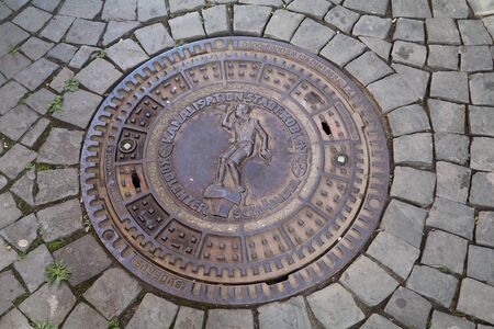 sewer cover in Koblenz
