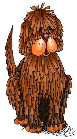 dreads: Sketchy cute dog