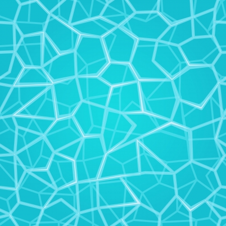 Water Surface Seamless Pattern  Turquoise Vector Background Vector