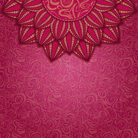 invitation background: Abstract Design Background with Big Flower  Floral Wallpaper Card Stock Photo
