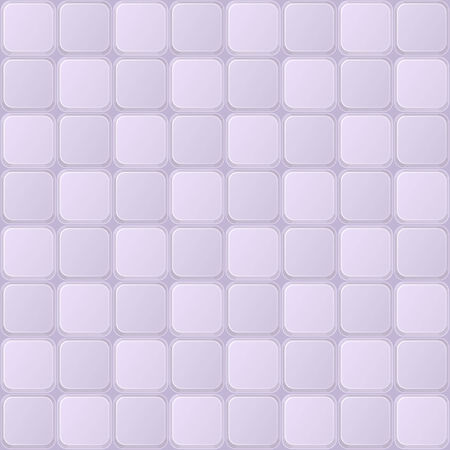Light Purple Tile Seamless Pattern with Shiny Square Elements  Vector Background Vector