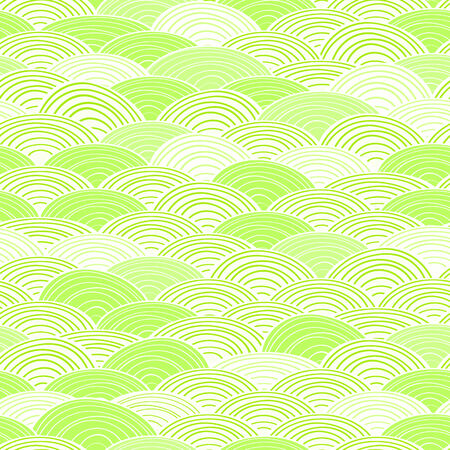 Shiny Light Green Seamless Abstract Pattern  Vector Background