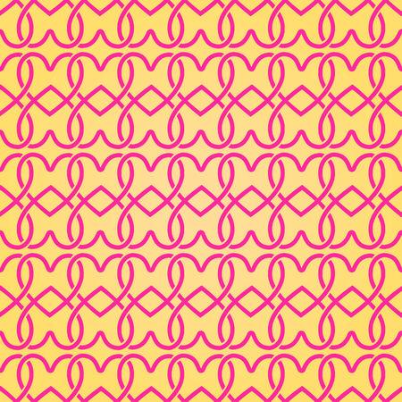 심장의 실루엣 손으로 그린 간단한 형상 원활한 패턴