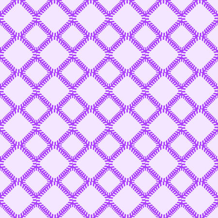 Light Purple Seamless Pattern with Rhombus Element  Geometric Tile Background Vector