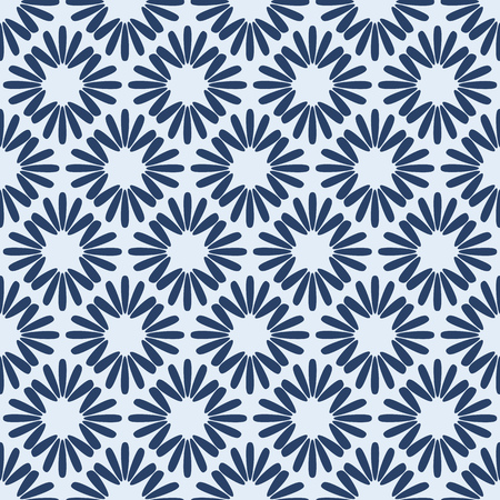 Vector Geometric Seamless Pattern  Tiled Background Vector