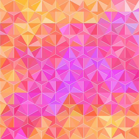 Spectrum Pattern of Rhombus Element. Texture with Flow of Colors. Vector