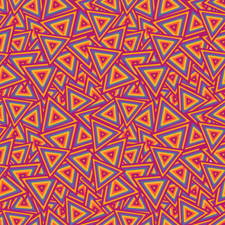 Abstract Vector Geometric Colorful Seamless Background Illustration